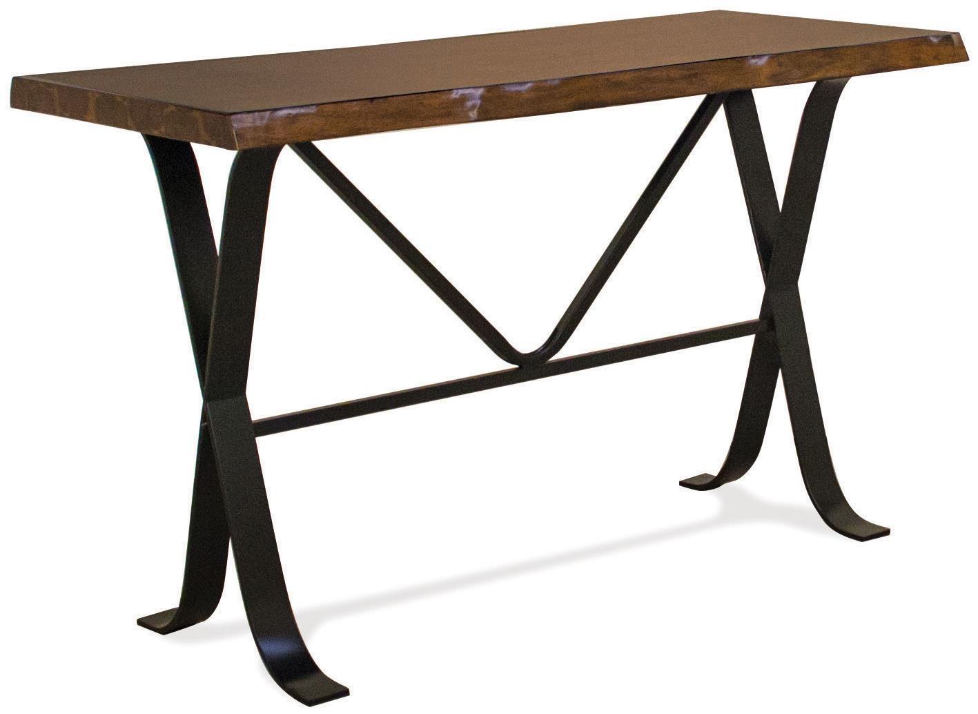 Riverside Furniture Boulder Sofa Table       - Item Number: 13915