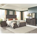 Riverside Furniture Bradford Queen Bedroom Group  - Item Number: 466 Q Bedroom Group 1