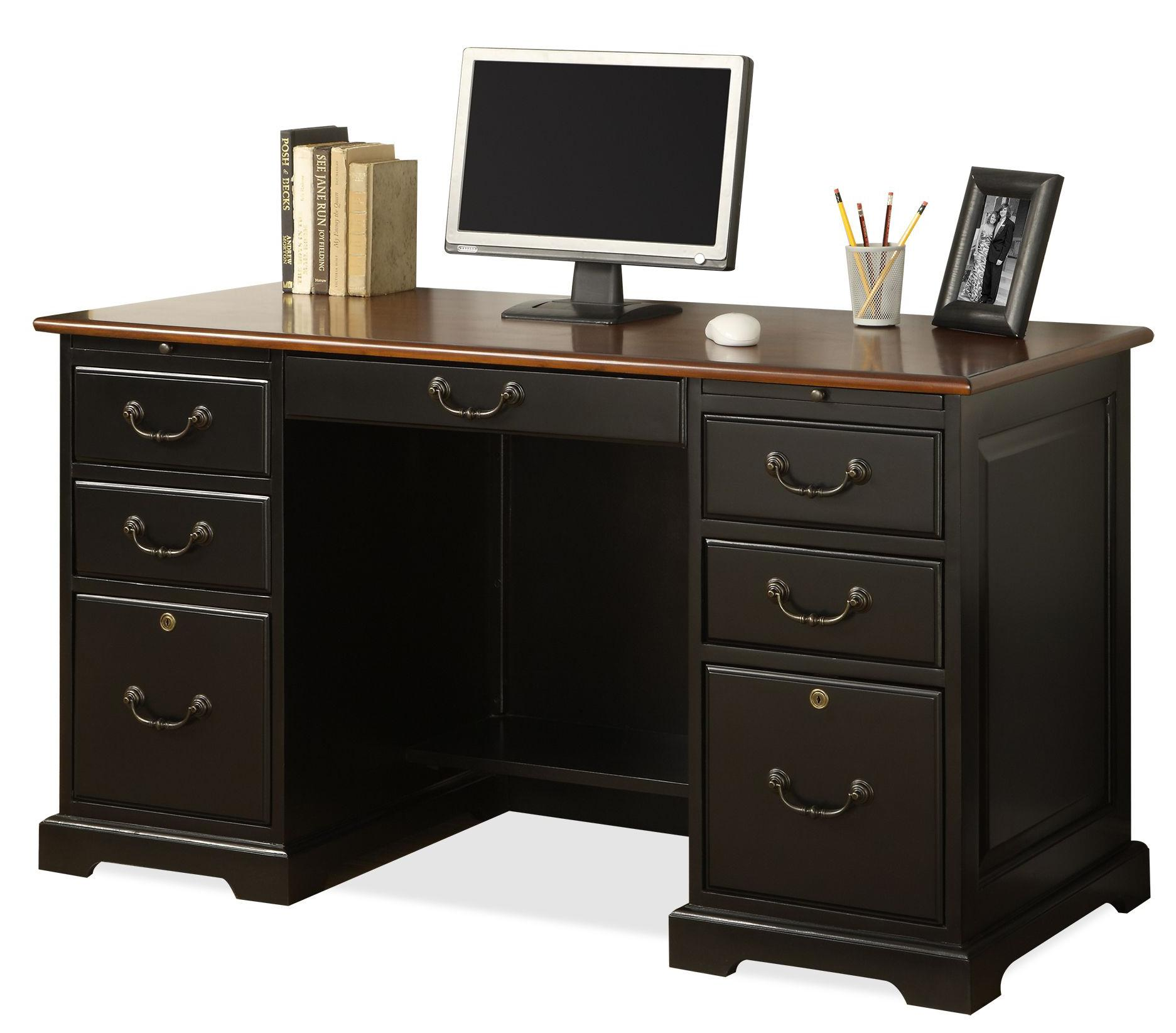Riverside Furniture Bridgeport  54 Inch Desk - Item Number: 7154