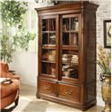 Riverside Furniture Bristol Court Double Sliding Glass Door Bookcase