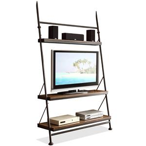 Riverside Furniture Camden Town Leaning TV Stand