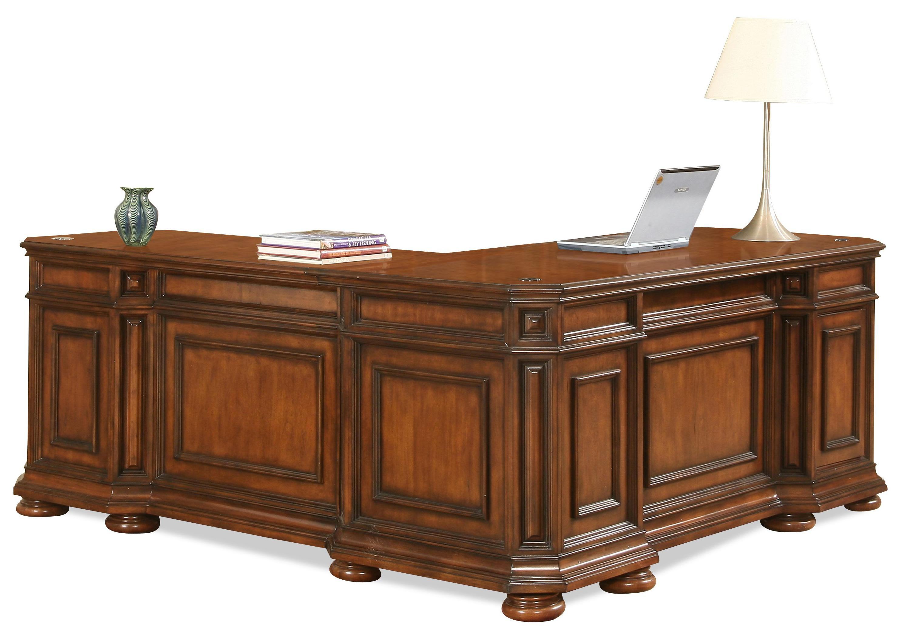 Riverside Furniture Cantata L Desk & Return - Item Number: 4928
