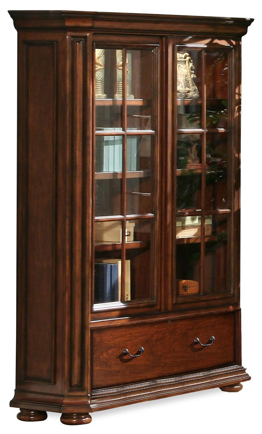 Riverside Furniture Cantata 76 Inch Bookcase - Item Number: 4934