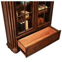 Riverside Furniture Cantata 76 Inch Closed Bookcase