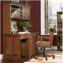Riverside Furniture Cantata Traditional 58-Inch Computer Desk and Hutch - 8958+8959