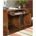 Riverside Furniture Cantata Traditional 58-Inch Computer Desk and Hutch - 8958+8959 - Detail of Keyboard Drawer