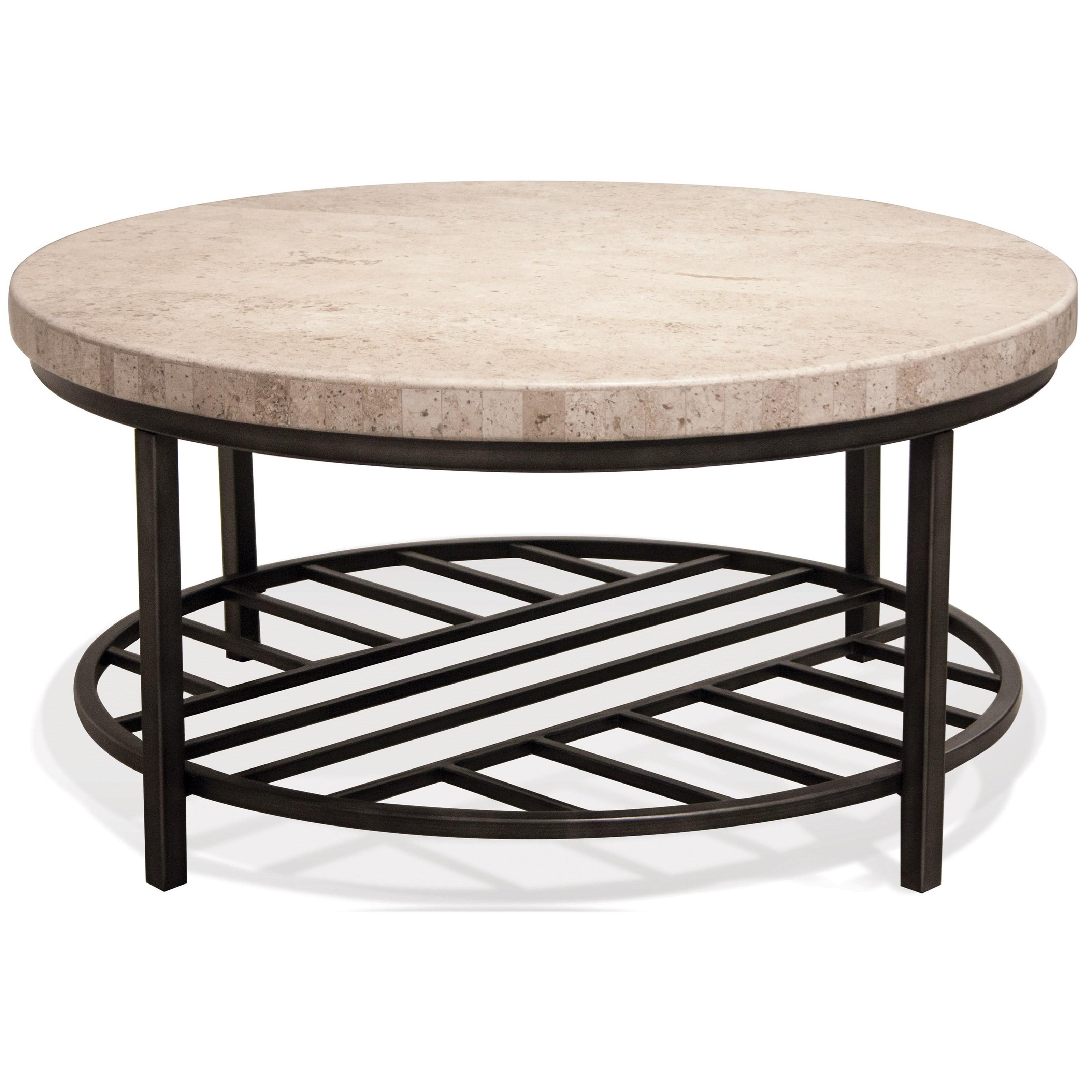 Riverside Furniture Capri 77701 Round Cocktail Table With