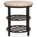 Riverside Furniture Capri Round End Table - Item Number: 77708