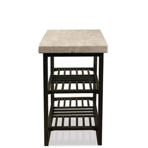 Riverside Furniture Capri Chairside Table