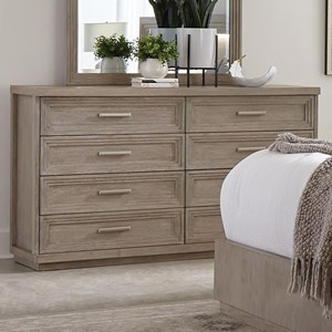 Contemporary 8-Drawer Dresser