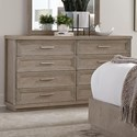 Riverside Furniture Cascade 8-Drawer Dresser - Item Number: 73460