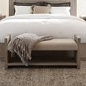 Riverside Furniture Cascade Upholstered Bed Bench - Item Number: 73467