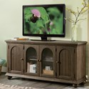 Riverside Furniture Cassidy Traditional 4 Door Entertainment Console