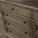 Riverside Furniture Cassidy Traditional 8-Drawer Dresser with Cedar Lined Drawers