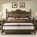 Riverside Furniture Cassidy California King Poster Bed - Item Number: 42380+82+81