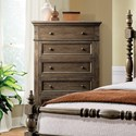 Riverside Furniture Cassidy Traditional 5 Drawer Chest with Cedar and Felt Lining