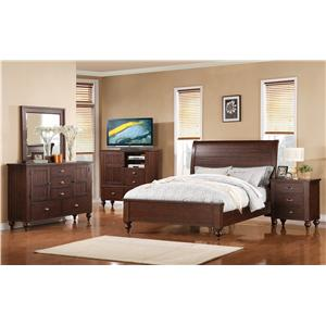 Riverside Furniture Castlewood Cal King Bedroom Group