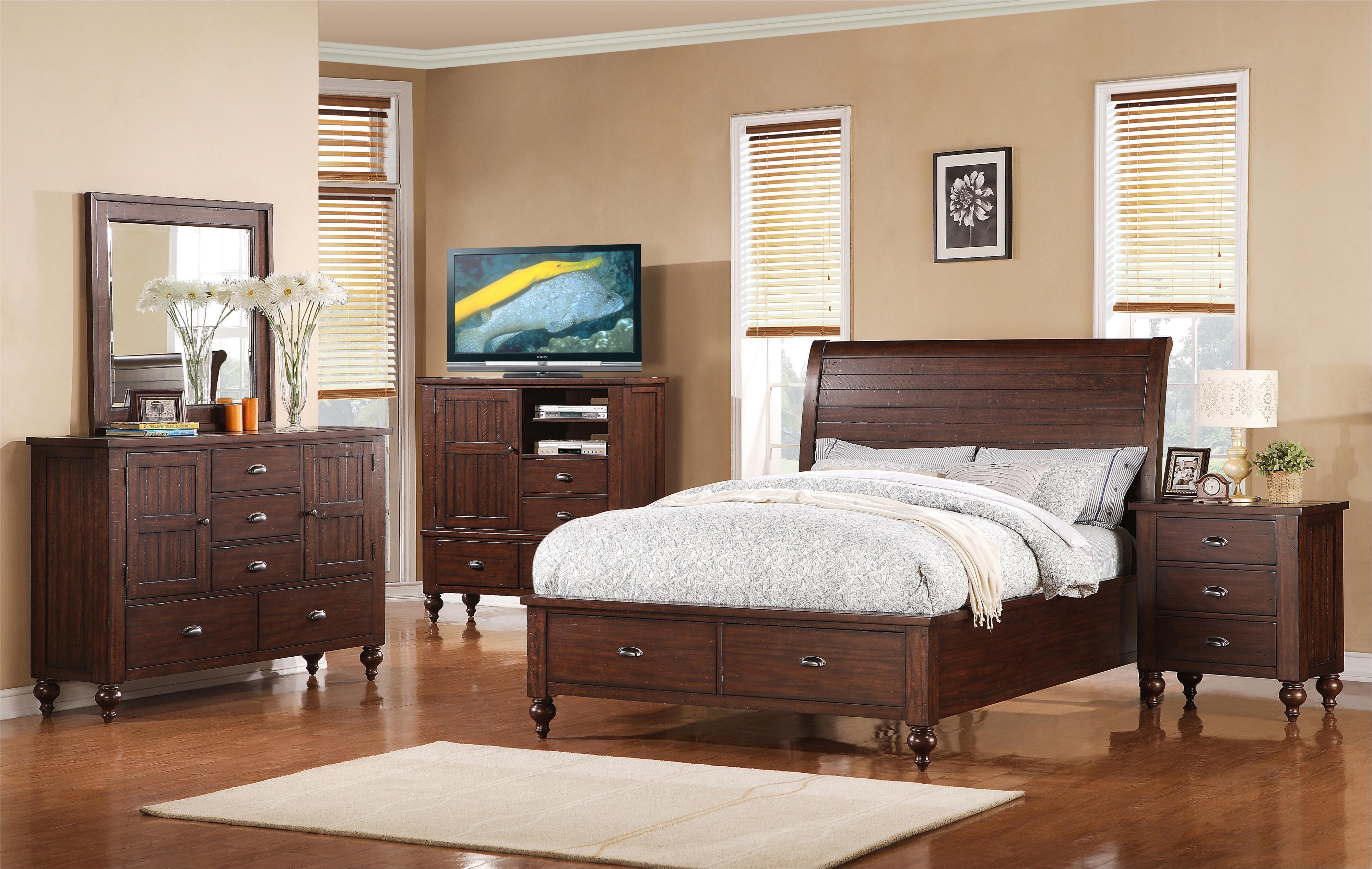 Riverside Furniture Castlewood Cal King Bedroom Group - Item Number: 335 CK Bedroom Group 2