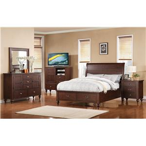 Riverside Furniture Castlewood King Bedroom Group