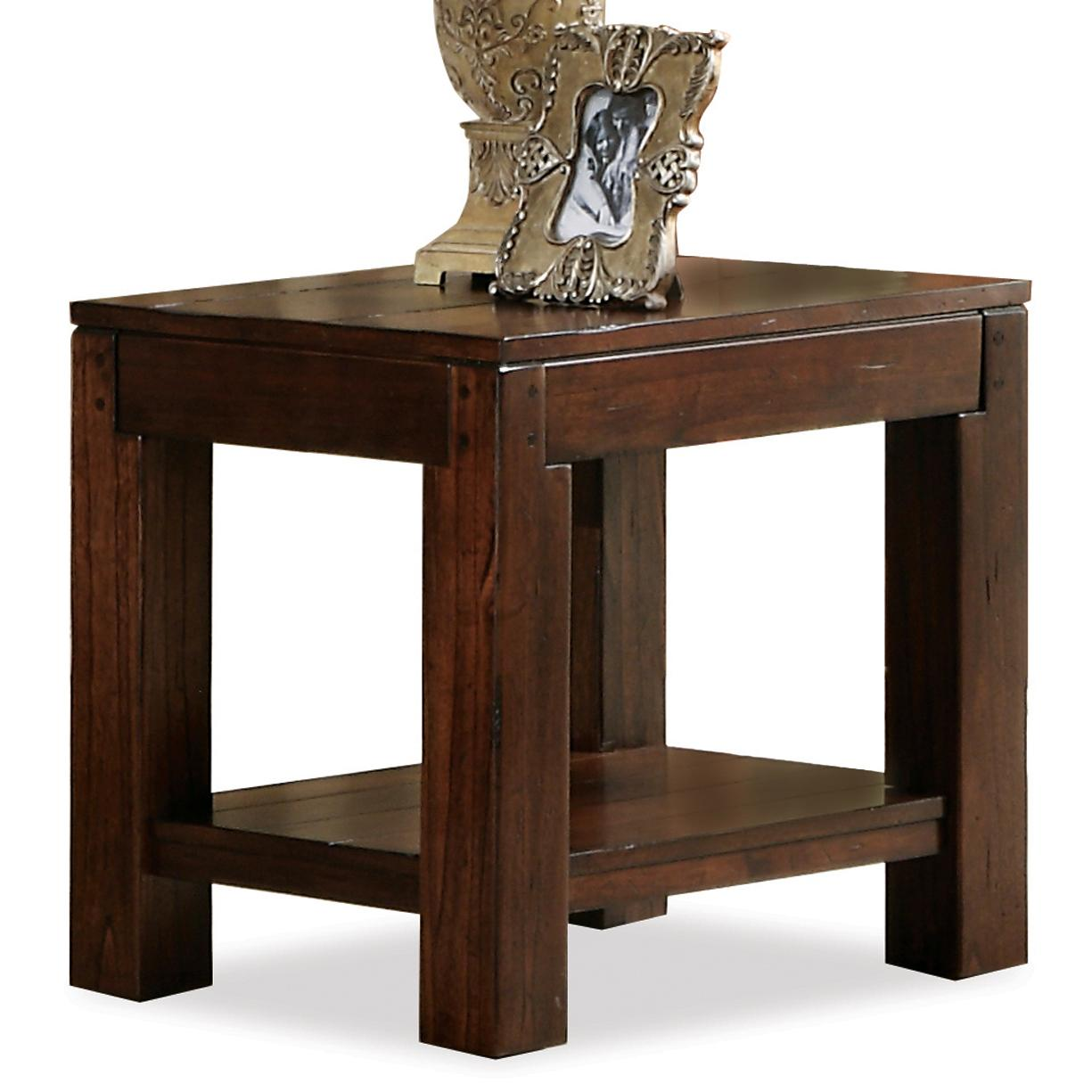 Riverside Furniture Castlewood End Table - Item Number: 335-12