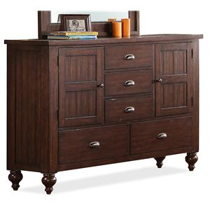 Riverside Furniture Castlewood Door Dresser