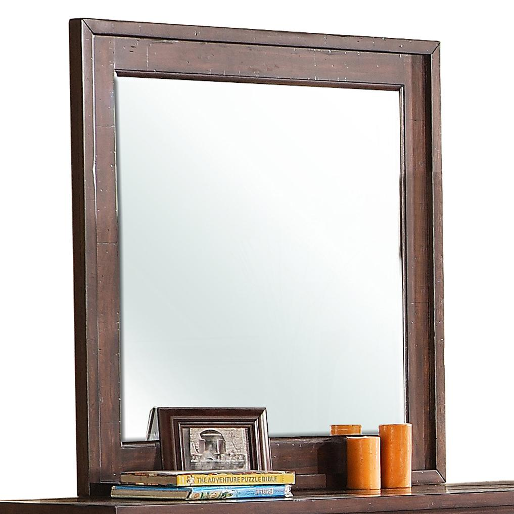 Riverside Furniture Castlewood Landscape Mirror - Item Number: 335-63
