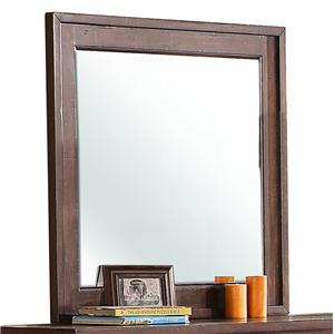 Riverside Furniture Castlewood Landscape Mirror