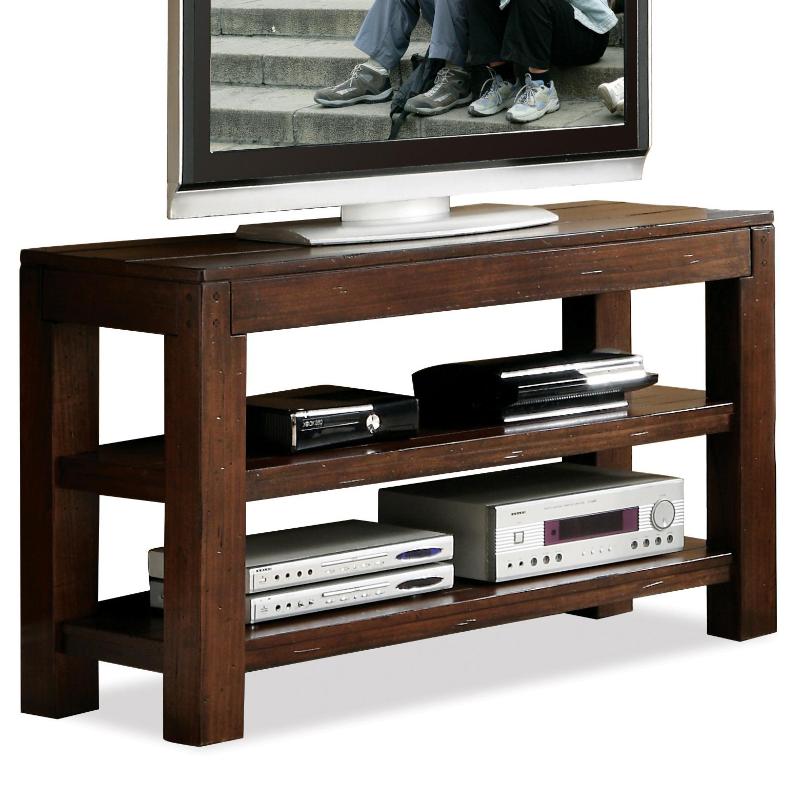Riverside Furniture Castlewood Open Console Table - Item Number: 33516