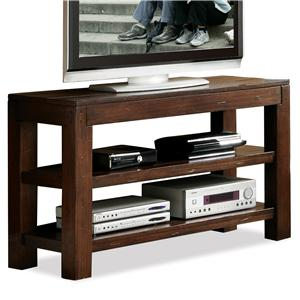 Riverside Furniture Castlewood Open Console Table
