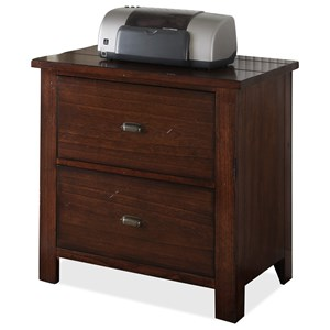 Riverside Furniture Castlewood Lateral File Cabinet