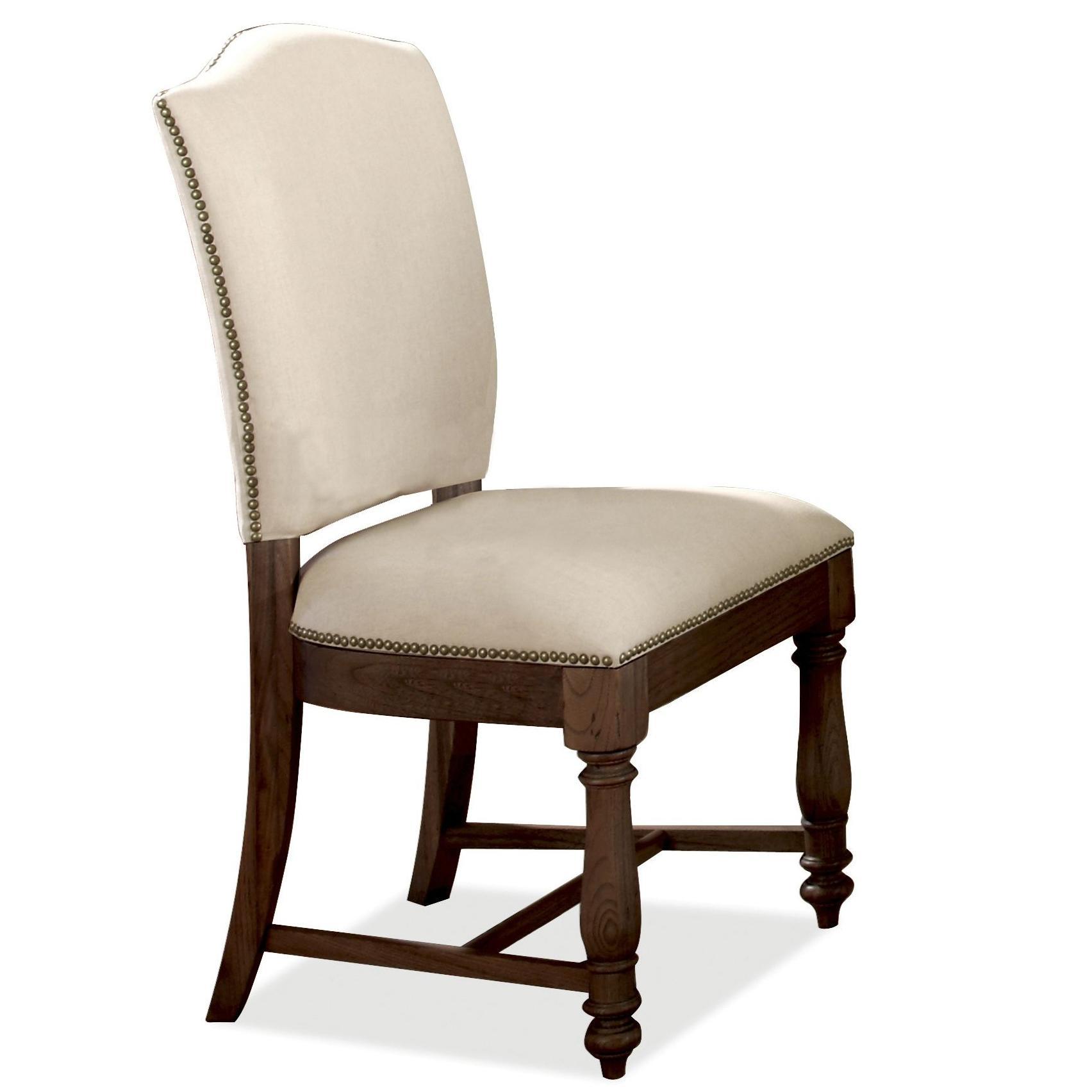 Riverside Furniture Castlewood Upholstered Dining Side Chair - Item Number: 33560