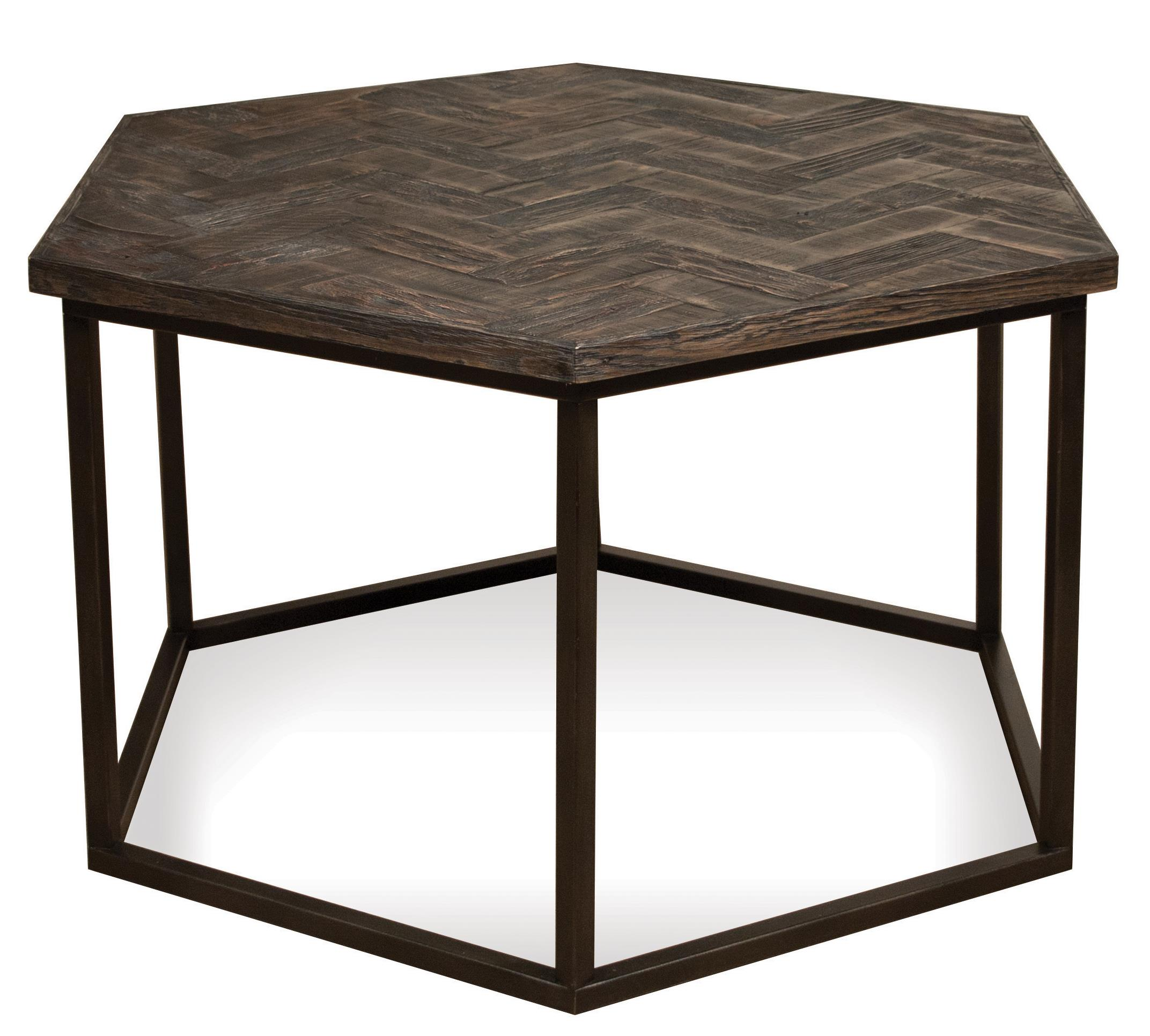 Riverside Furniture Chevron Hexagon Coffee Table - Item Number: 73101