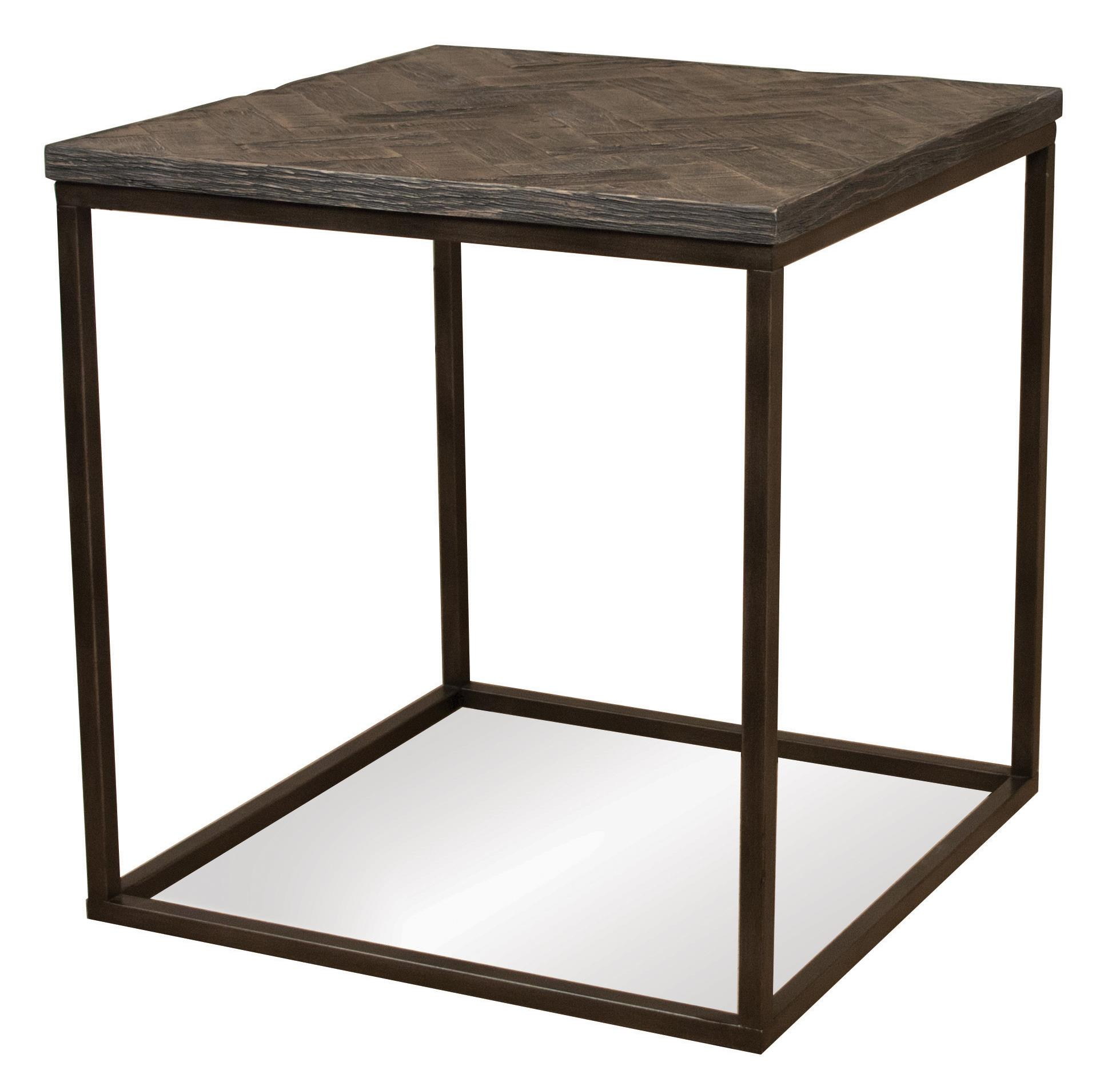 Riverside Furniture Chevron Square Side Table - Item Number: 73109