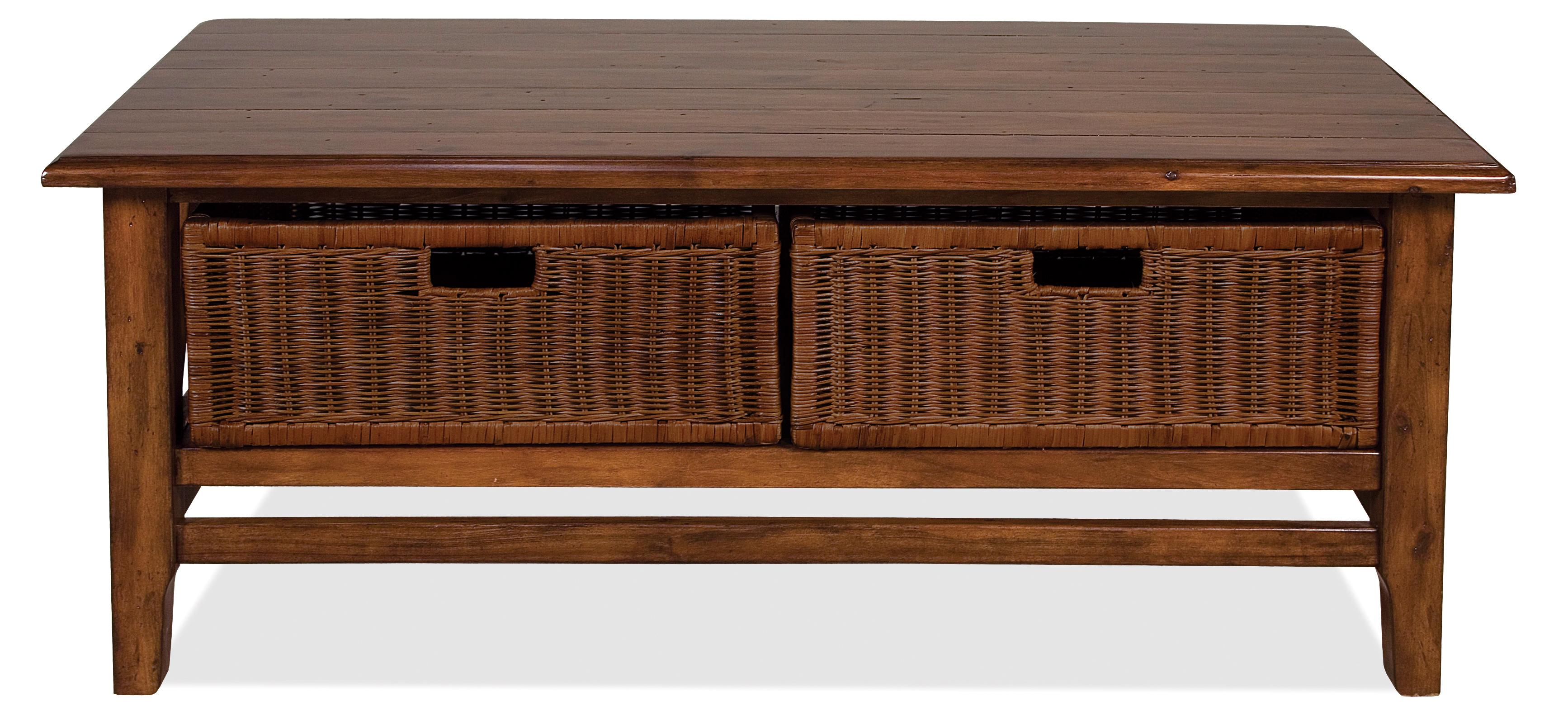 Riverside Furniture Claremont  Rectangular Cocktail Table - Item Number: 79502