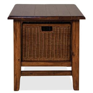 Riverside Furniture Claremont  Rectangular End Table