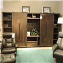 Riverside Furniture     Sliding Door Wall Unit - Item Number: 263546588
