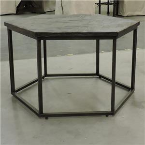 Riverside Furniture     Hexagon Cocktail Table
