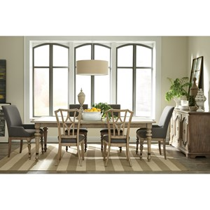 Riverside Furniture Corinne Formal Dining Room Group 2