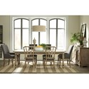 Riverside Furniture Corinne Formal Dining Room Group 2 - Item Number: 215 Dining Room Group 2