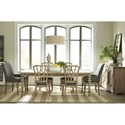 Riverside Furniture Corinne Formal Dining Room Group 3 - Item Number: 215 Dining Room Group 3