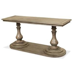 Riverside Furniture Corinne Rectangle Sofa Table