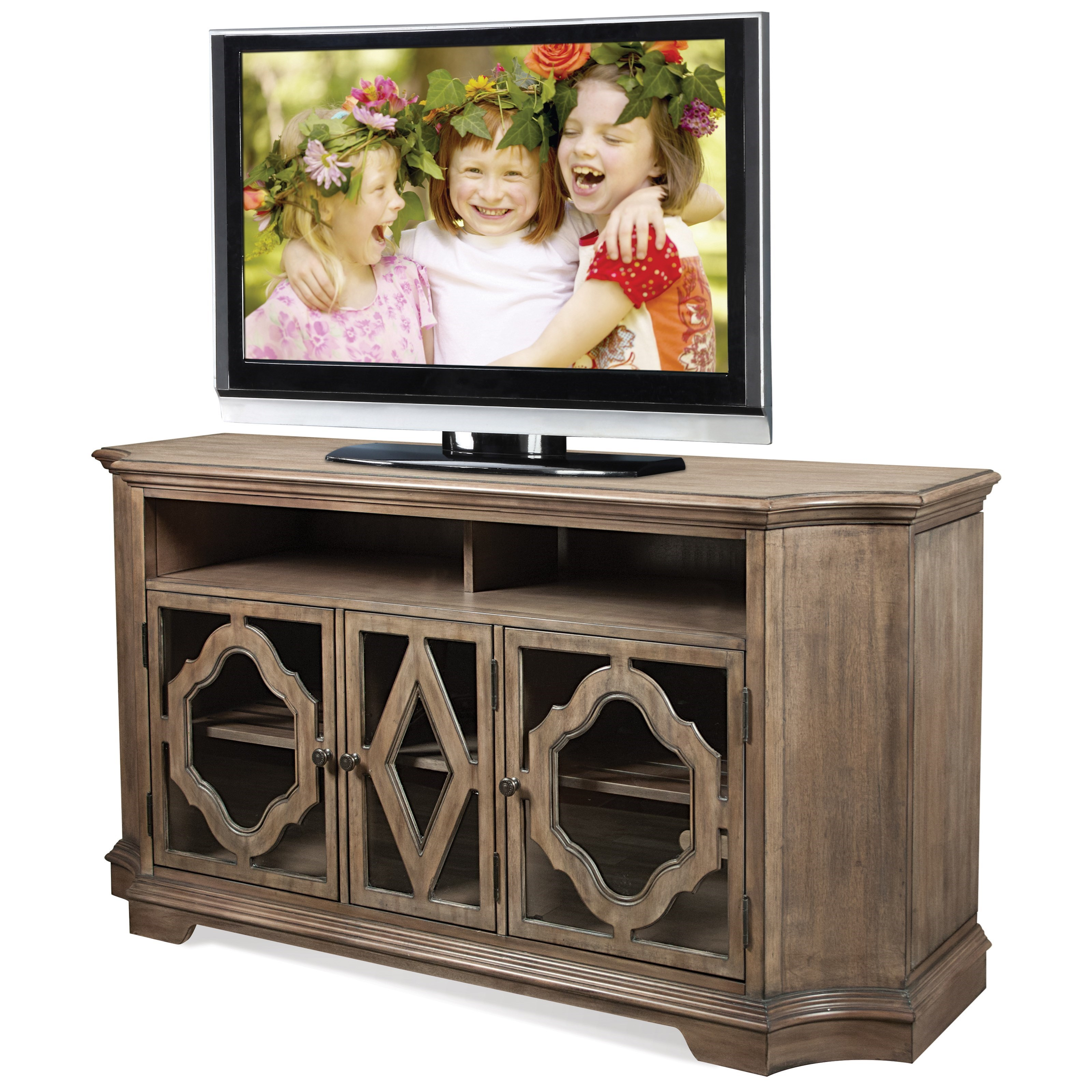 Riverside Furniture Corinne TV Console - Item Number: 21540