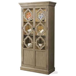 Riverside Furniture Corinne Display Cabinet