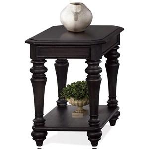 Riverside Furniture Corinne Chairside Table