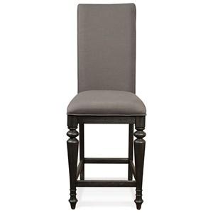 Riverside Furniture Corinne Uph Counter Stool 2in