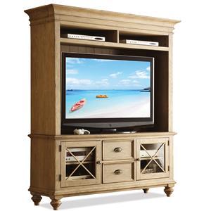 Riverside Furniture Coventry TV Console & Hutch