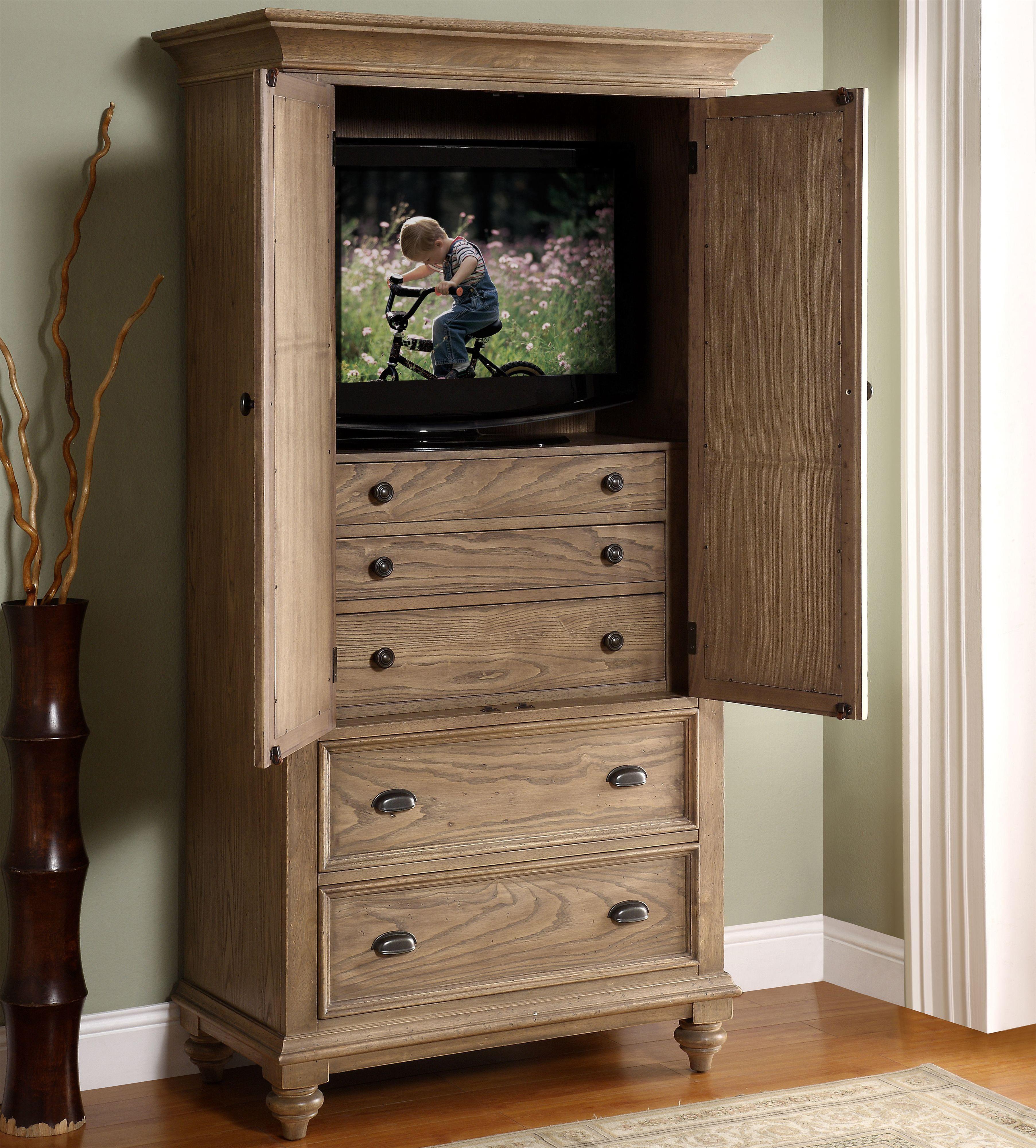 Riverside Furniture Coventry 32463 2 Door Mirror Armoire