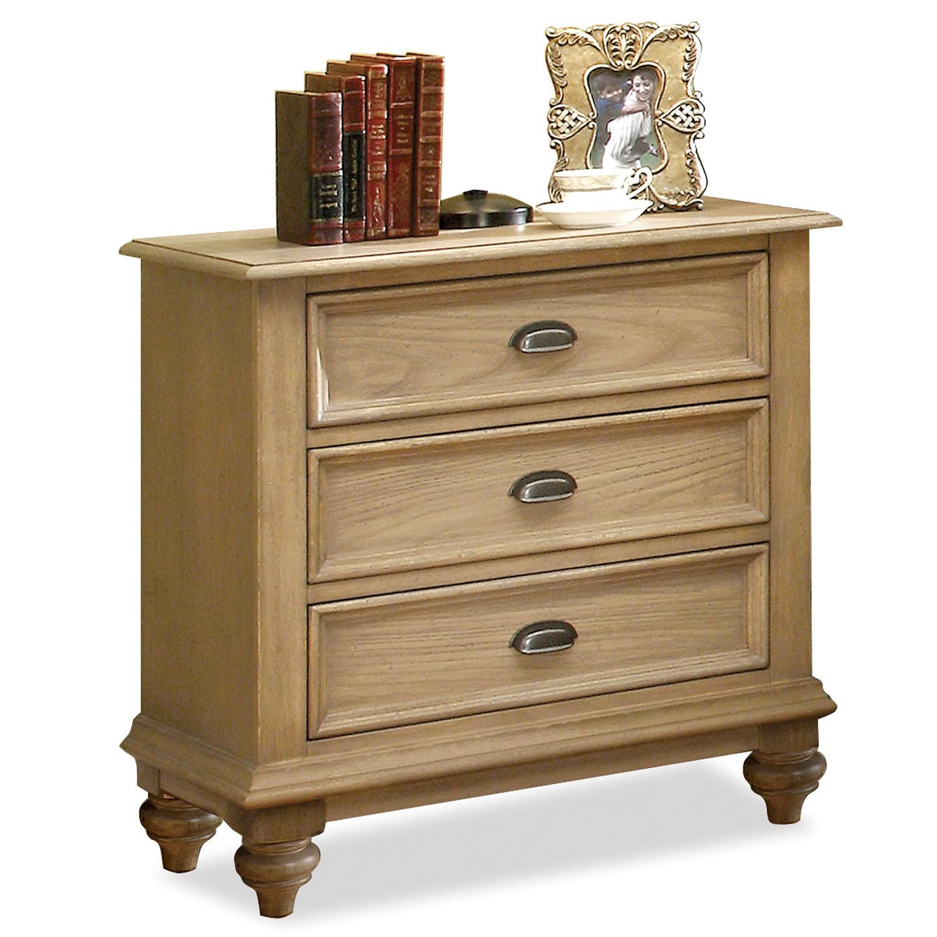 Riverside Furniture Coventry 3-Drawer Night Stand - Item Number: 32468