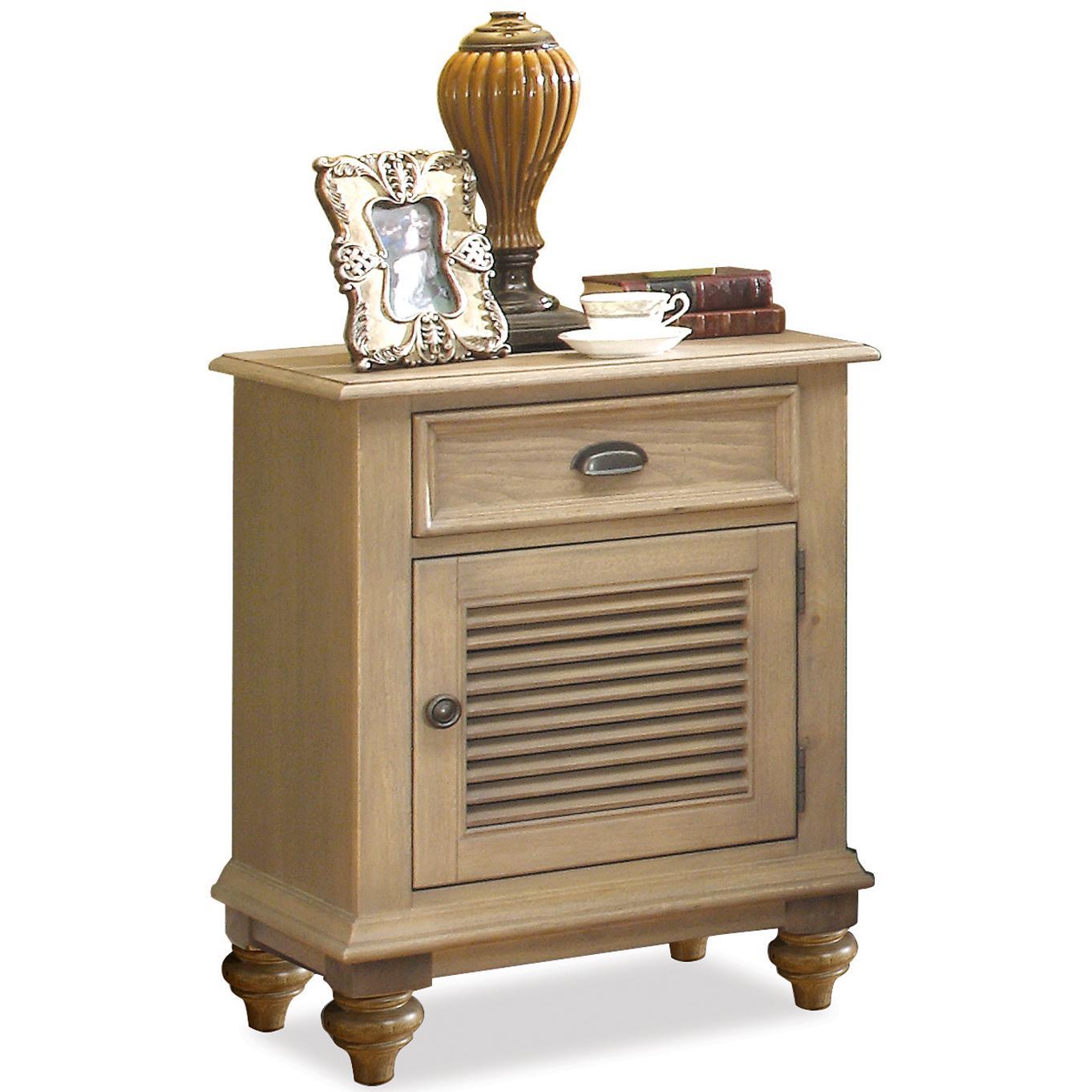 Riverside Furniture Coventry Shutter Door Nightstand - Item Number: 32469