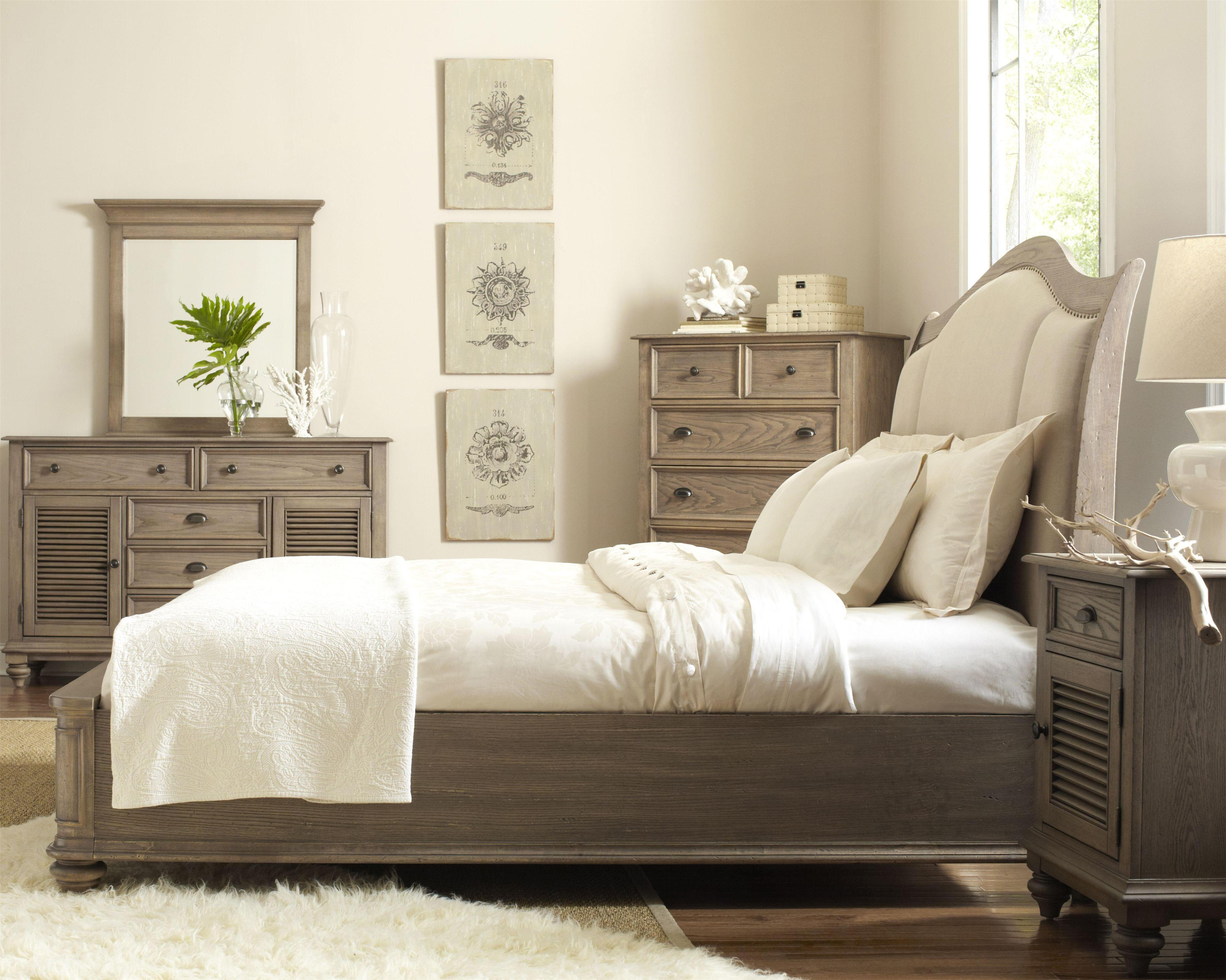 Coventry king upholstered sleigh headboard bed with nail Upholstered sleigh bed